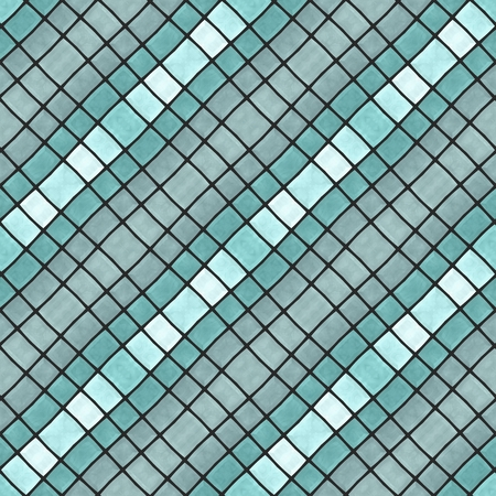 tileable: Abstract tileable seamless regular ornamental mosaic pattern Stock Photo