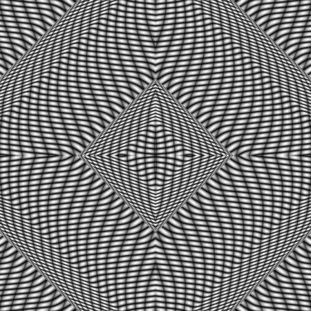 centralized: Centralized geometric mesh black white kaleidoscopic background