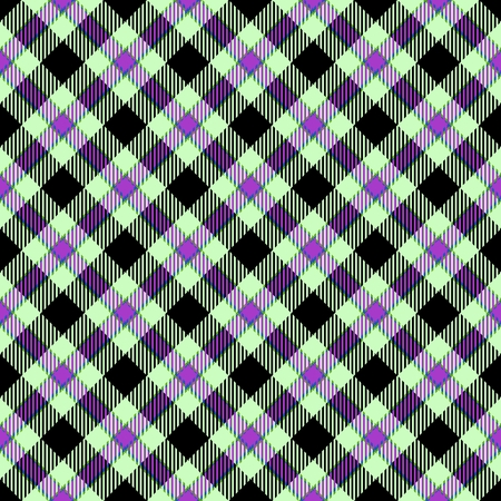 hanky: Abstract diagonally checkered tartan pattern. Digitally rendered background with textile texture usable for tapestry, rug, carpet, plaid, blanket, handkerchief, wallpaper, fabric or paper print.