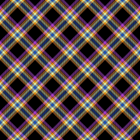 rug texture: Abstract diagonally checkered tartan pattern. Digitally rendered background with textile texture usable for tapestry, rug, carpet, plaid, blanket, handkerchief, wallpaper, fabric or paper print.