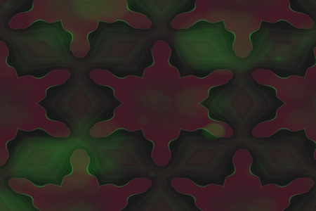 hydra: Abstract fractal green brown dreamy background