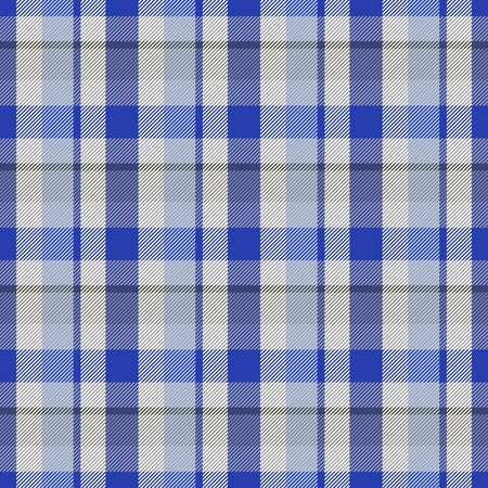 Abstract checkered seamless regular digitally rendered pattern with fabric texture