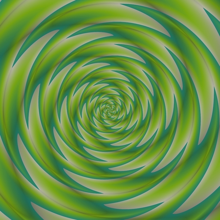 green swirl: Green blue swirl pattern