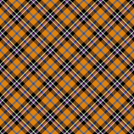 diagonally: Abstract checked crossover striped diagonally seamless pattern