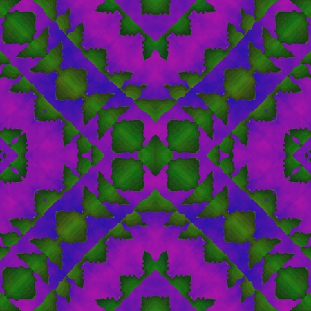 subconsciousness: Abstract fantasy soft fractal psychedelic purple green background