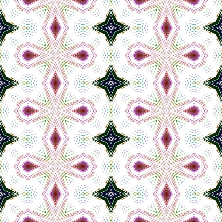 Abstract seamless kaleidoscopic background
