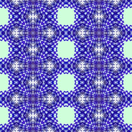 mirroring: Abstract seamless kaleidoscopic background