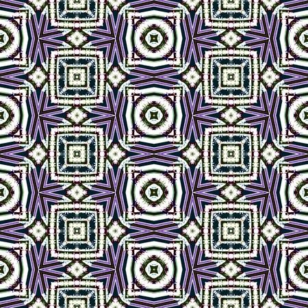 postmodern: Abstract seamless geometric cubist kaleidoscopic background