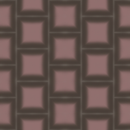 repeat: Abstract brown rose checkered regular repeat retro pattern