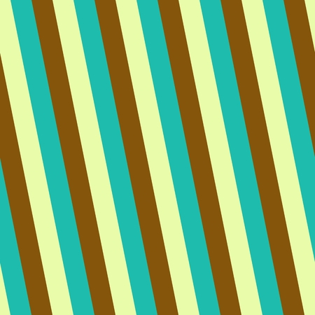 accomplished: Turquoise yellow brown seamless oblique striped smooth accomplished fashionable pattern Stock Photo
