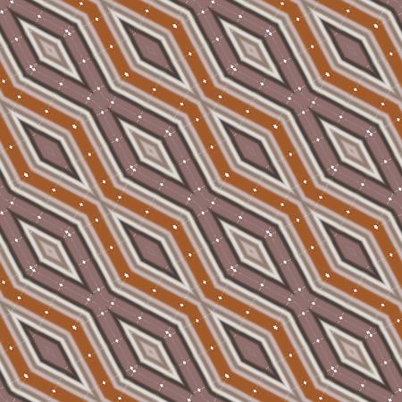 secession: Abstract diagonally brown beige orange zig zag pattern in retro style