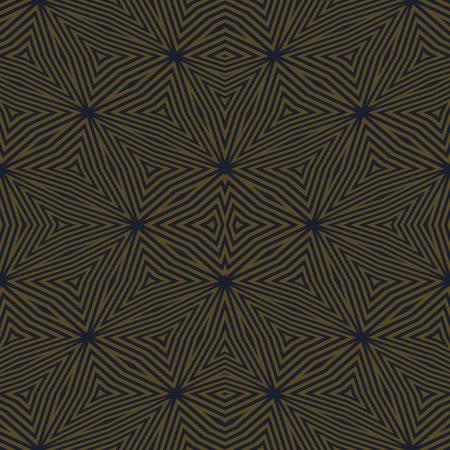 shiver: Abstract brown black kaleidoscopic geometric tile