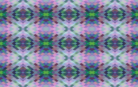 rustical: Abstract seamless traditional rustical retro pink green blue white floral pattern on business card dimensional area