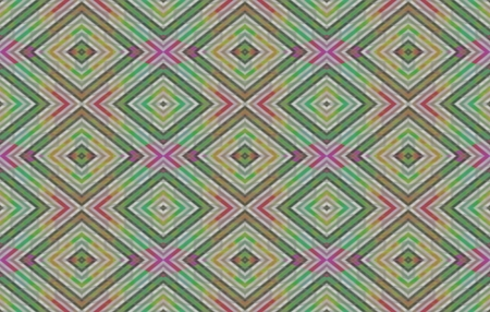 dimensions: Abstract regular seamless pattern in ocher gray pink turquoise shades in business card dimensions