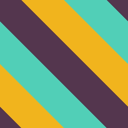 colorful stripes: Thick colorful diagonally vivid stripes - seamless modern simple pattern Stock Photo