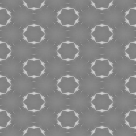 mirroring: Abstract black white gray kaleidoscopic decorative tile Stock Photo