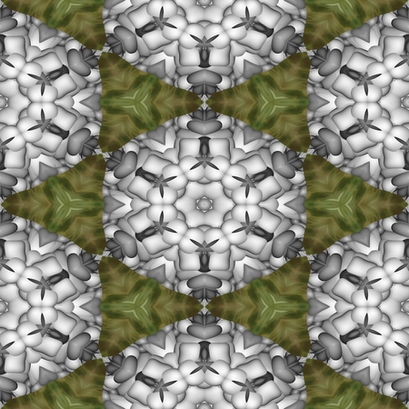 seamless tile: Abstract decorative kaleidoscope seamless printable tile