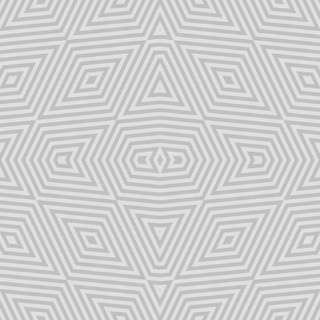 sedate: Abstract bright decorative curvy stripes seamless white gray tile