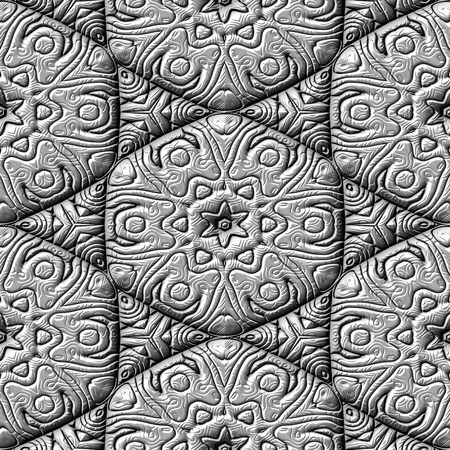 mirroring: Silver decorative mirroring regular seamless tile