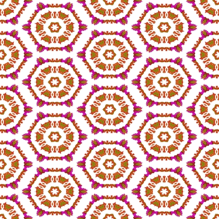 regular: Abstract regular seamless symmetrical kaleidoscopic tile