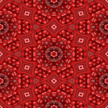 able: Abstract seamless red floral fashion able design background