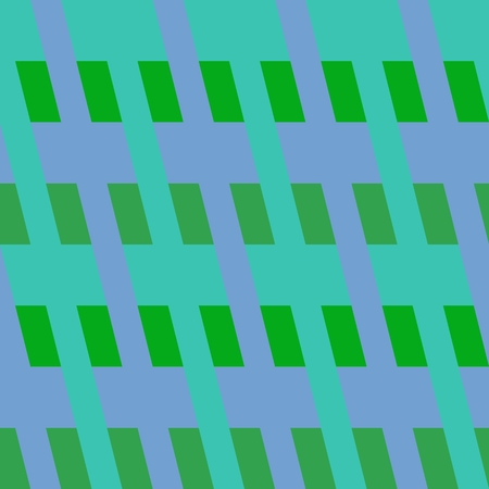 mauve: Abstract tiles with op art angular green mauve pattern