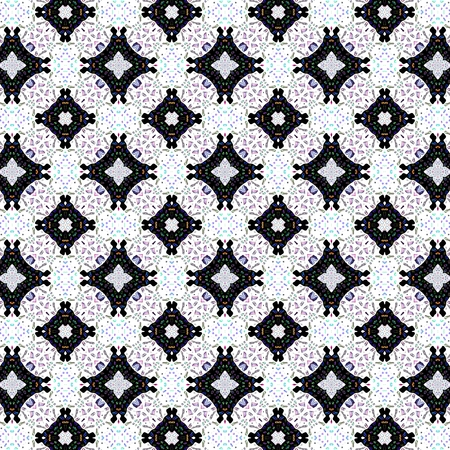 digitally: Abstract seamless digitally rendered decorative pattern