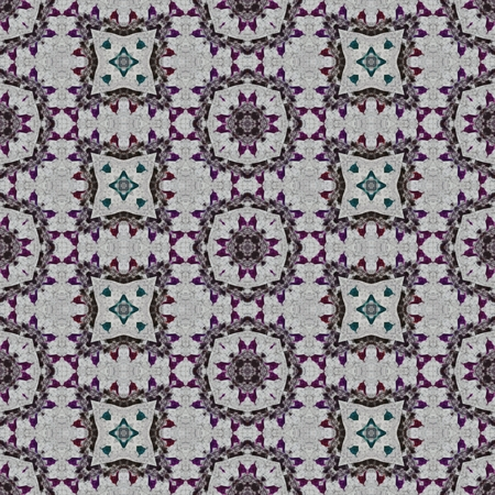rendered: Abstract seamless digitally rendered decorative pattern