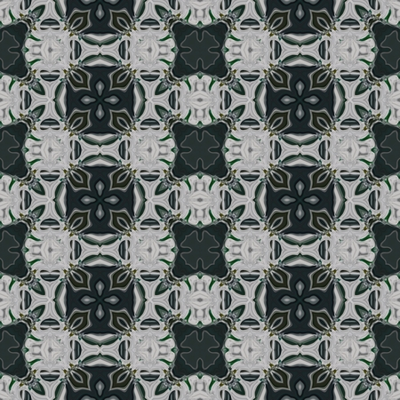 muted: Regular rug carpet retro seamless historical muted fine secession pattern