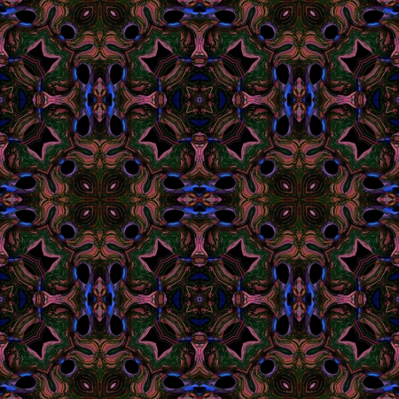 subconsciousness: Abstract fantasy dark fractal psychedelic seamless background