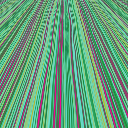 radiated: Abstract striped green radiated frond background