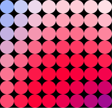 Abstract blue red white low poly spotted business background in op art style. Colors suitable for the occasion of Independence Day.