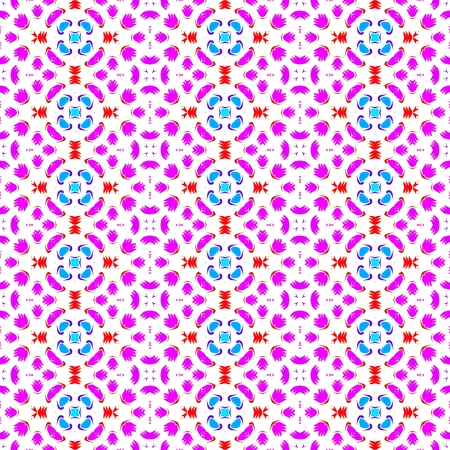 carpeting: Abstract seamless colorful fashion able pattern