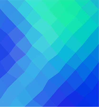 Abstract colorful polygonal geometric mosaic background Illustration