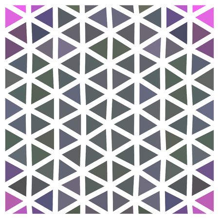 grid paper: Abstract triangular low poly pattern with white grid - geometric design tile usable for origami paper