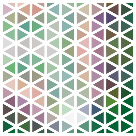 grating: Abstract triangular low poly pattern with white grid - geometric design tile usable for origami paper