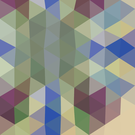 tonality: Abstract colorful low poly triangular retro geometric modern pattern in op art style Illustration