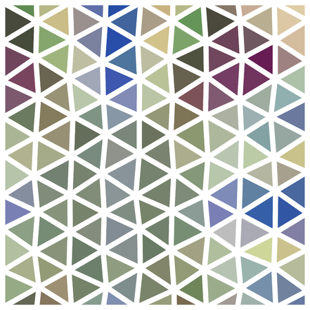 usable: Abstract triangular low poly pattern with white grid - geometric design tile usable for origami paper