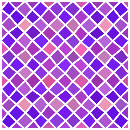 rhombic: Abstract pink old rose violet purple geometric irregular low polygonal rhombic pattern with white countour