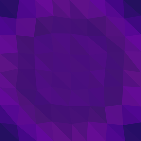 violet purple: Abstract saturated violet purple blue triangular dark concentric pattern