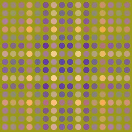reticulation: Abstract pattern composed of regular colorful points - grid digitally rendered tile - computer generated background