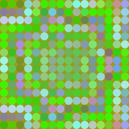 Resumen patrón de colores compuesta de puntos regulares - rejilla procesada digitalmente baldosas - antecedentes generados por computadora