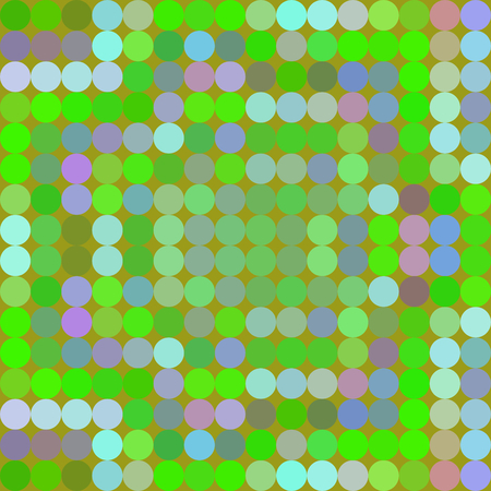 Abstract pattern composed of regular colorful points - grid digitally rendered tile - computer generated background