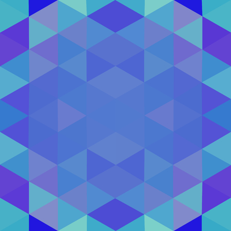 tonality: Abstract triangular kaleidoscopic messy polygonal background Illustration