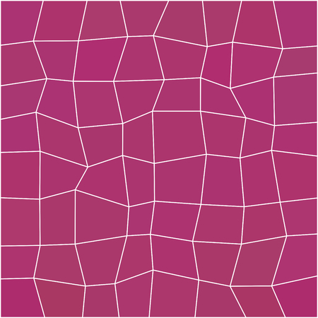 trapezium: Abstract purple red geometric low polygonal pattern with white countour