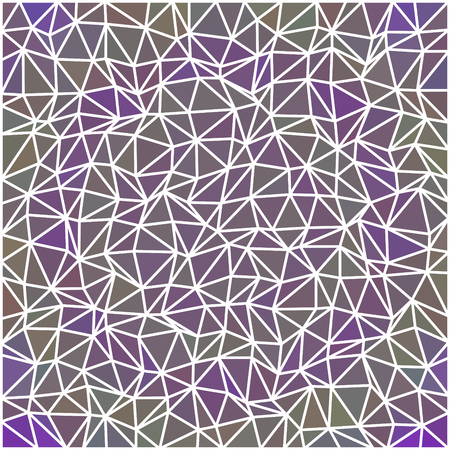 gray netting: Abstract geometric low polygonal pattern with white countour