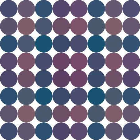 Regular pattern with circle geometric shapes on white background