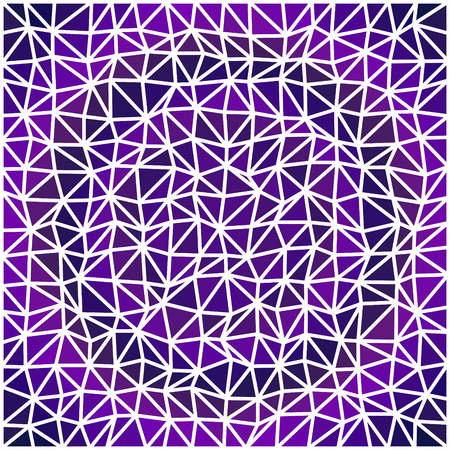 smoky: Abstract triangular smoky gray violet geometric low polygonal pattern with thin white countour
