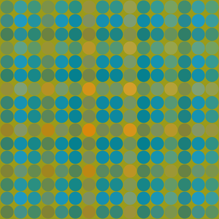 underlay: Abstract pattern composed of regular colorful points - grid digitally rendered tile - computer generated background