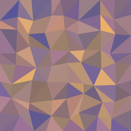 Abstract triangular kaleidoscopic messy polygonal background Illustration
